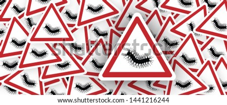 Eikenprocessierups Stop Oak processionary moth moths tiny hairs process caterpillars caterpillar banner icon icons sign signs symbol fun funny poisonous oak tree Beware danger waring procession OPM