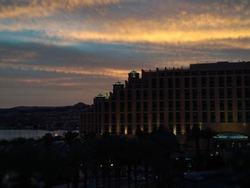 Eilat on sunset - beautiful sky