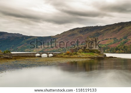 Eilean Donan Castle - stock photo