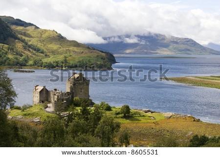 Eilean Donan castle in north east Scotland