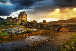 Eilean Donan  castle in UK