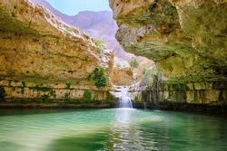 Ein Gedi nature reserve, Arugot stream, Israel