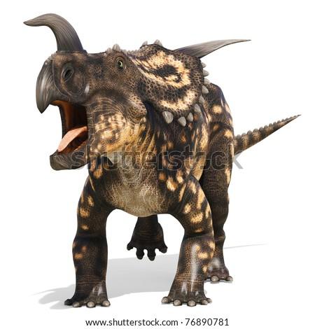 einiosaurus walking