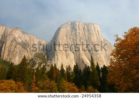 El Capitan in the Fall (Yosemite) #24954358