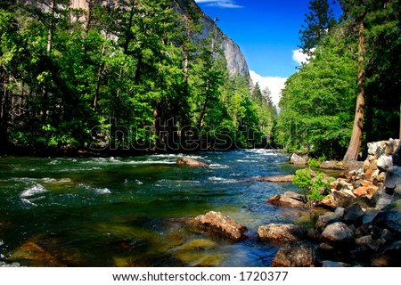 El Capitan, Yosemite National park - stock photo