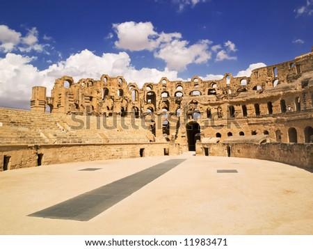 El Djem amphitheater, Tunisia