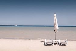 El Gouna beach located at Northern of Hurghada city, Egypt