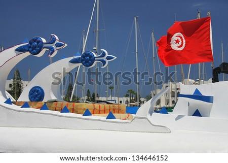 El Kantaoui marine in Tunisia