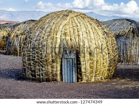 EL Molo huts, Lake Turkana, Kenya
