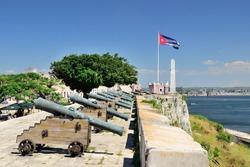 El morro cabana fort in Havana, Cuba
