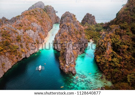 Stock Photo El Nido, Palawan Philippines