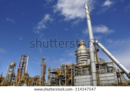 El Palito oil refinery, Venezuela (South America)