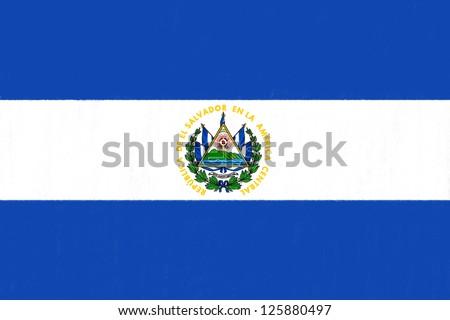 el salvador flag drawing by...