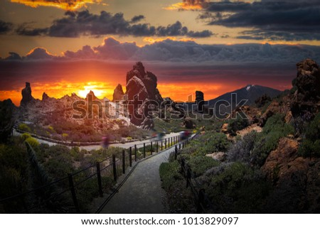 El Teide National Park, Tenerife, Canary Islands, Spain #1013829097