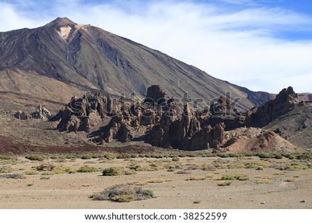 El Teide - postcard