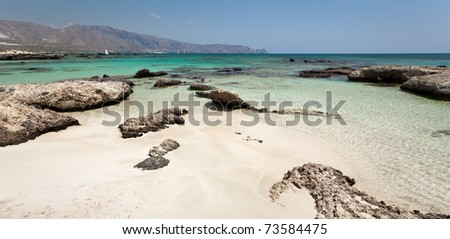 Elafonisi beach (Crete, Greece)