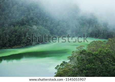 elaga Warna Dieng is a tourist attraction in the Dieng Plateau region, Wonosobo Regency, Central Java. This lake is one of the mainstay tourist destinations in Wonosobo Regency.