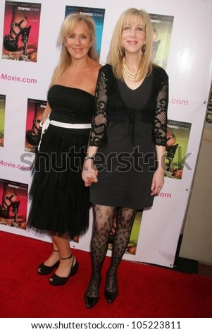 "Elana Krausz and Harriet Rose at the Los Angeles Premiere of ""Stripped Down'. Laemmle's Sunset 5, West Hollywood, CA. 05-21-09 - stock photo"