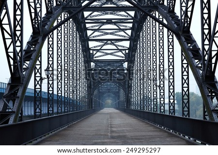 Elbe bridge #249295297
