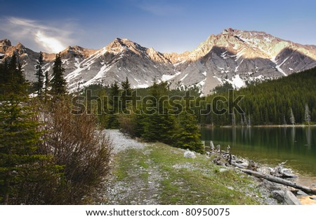 Elbow Lake Kananaskis Country Alberta Canada