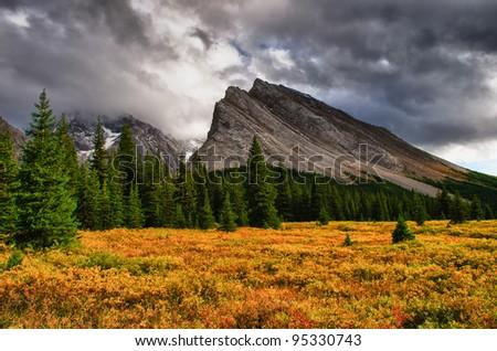 Elbow Pass and Tombstone Lakes area Peter Lougheed Provincial Park, Kananaskis Country Alberta Canada
