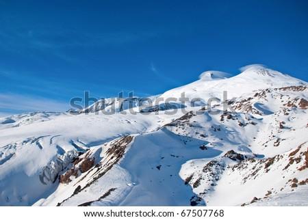 Elbrus. Two winter peaks