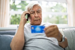 Elder Scam Call And Senior Pension Finance Fraud