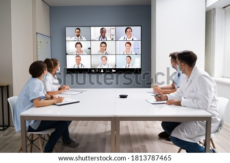 Elearning Video Conference Presentation Meeting And Webinar