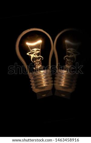 Electric bulb designed for modern technology, easy distribution of light  #1463458916