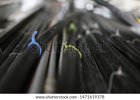 electric cable detail. installing electrical cables. #1471619378