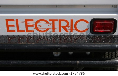 Electric car.