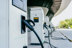 electric car charging station in hangzhou china