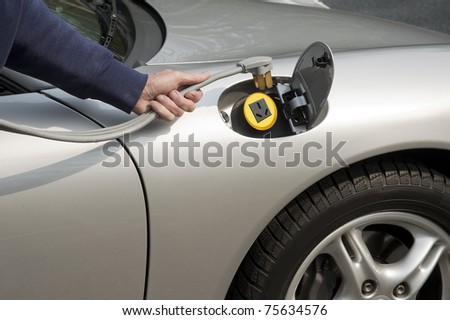 Electric car home refueling