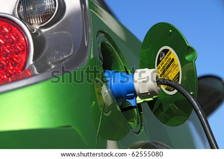 electric car refuel with power