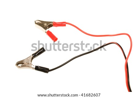 electric clip with wires