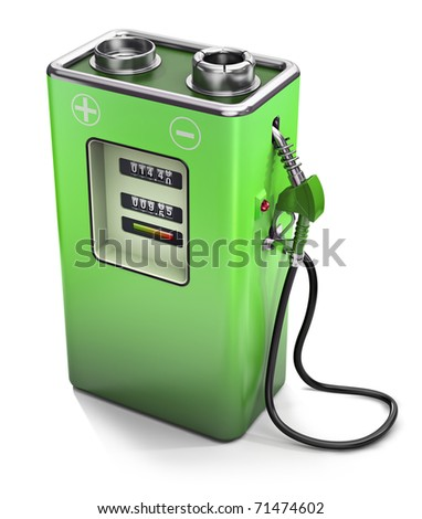 Electric fuel pump, electric energy concept