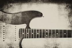Electric guitar backgrund