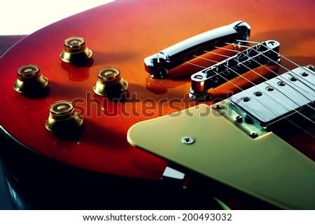 Electric Guitar Photo of an electric guitar