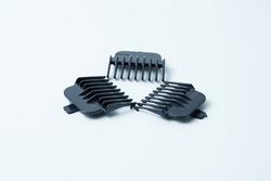 Electric hair clipper clipper. White background.