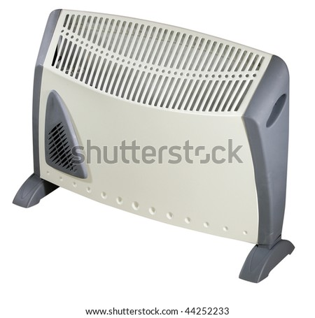 Electric Heater - isolated on white background