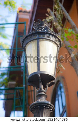 electric lamp, street lamp