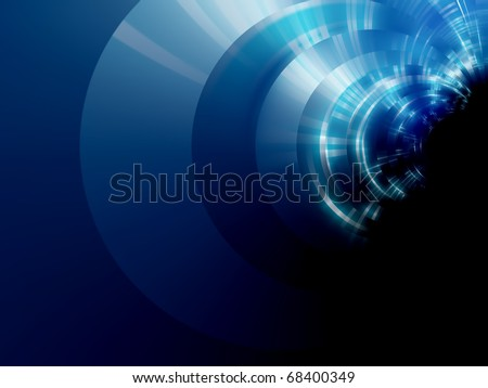 electric lines blue background design