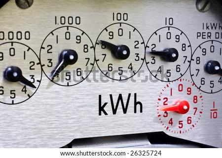 Electric Meter Dials