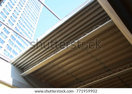 electric operated retractable fabric and aluminium roof cover system , versatile folding roof   #771959902