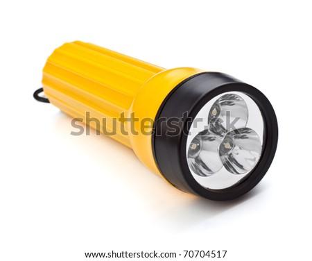 Electric Pocket Flashlight Photo stock ©