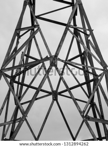 Electric pole photography