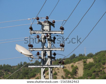 electric poles and electric wires #1565862463