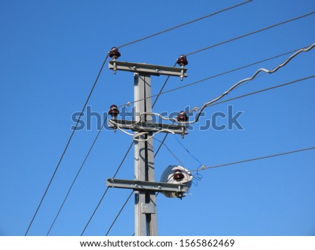 electric poles and electric wires #1565862469