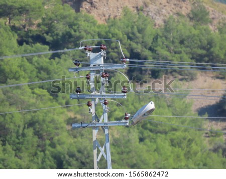 electric poles and electric wires #1565862472