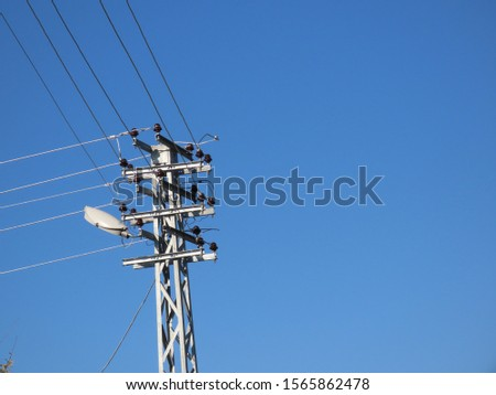 electric poles and electric wires #1565862478
